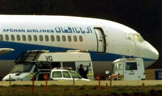 The Afghan aircraft that brought the hijackers to Stansted