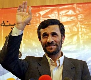 Madman or what? - Iranian President Mahmoud Ahmadinejad