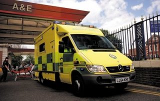 Want an ambulance in London? Mercedes will do nicely
