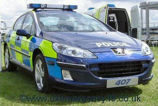A Peugeot does nicely for Cambridgeshire police