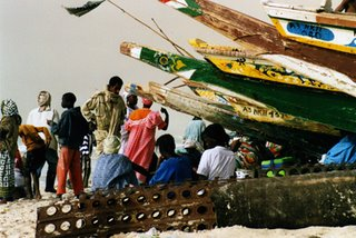 Mauritanian fishing boats
