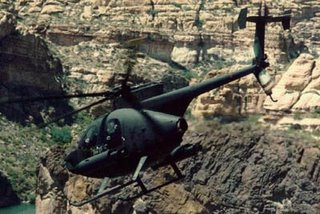 An MD 500 Defender - workhorse light utility helicopter for rmies throughout the world
