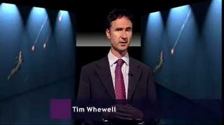 Newsnight presenter Tim Whewell