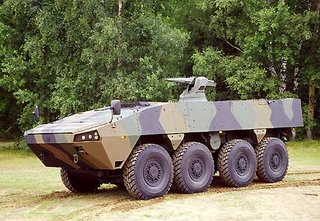 The Finnish Patria - one of the platforms the MoD may be considering for FRES