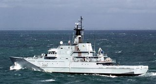 A River Class patrol vessel - ideal equipment for an EU Navy