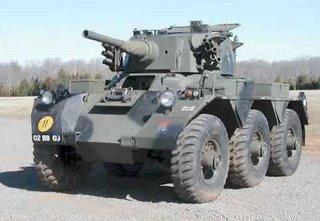 Saladin armoured car