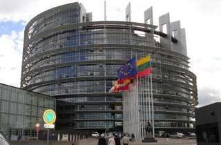 The EU parliament in Strasbourg