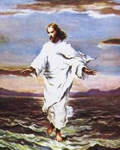 Jesus has nothing on the EU - he only walked on water