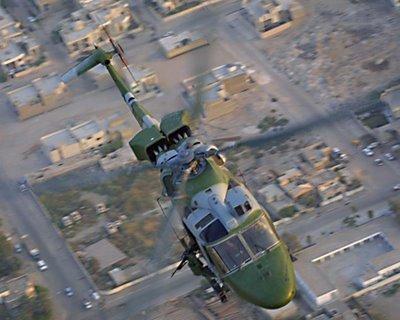 Lynx over Basra