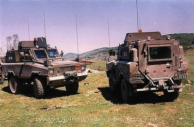 British Army Mambas in Bosnia