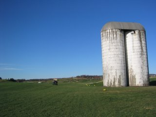 Extra points for hitting the silo