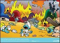 Bombing the Smurfs