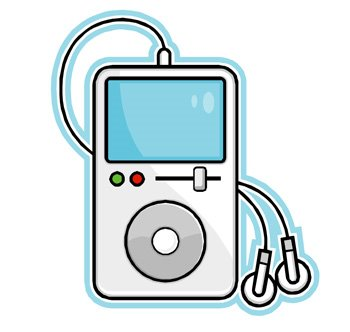 Ipod With Headphones Clip ArtIpod Clipart