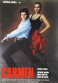 Carmen by Carlos saura: Antonio Gedes. Laura del Sol & paco De Lucia