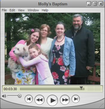 Molly's Baptism