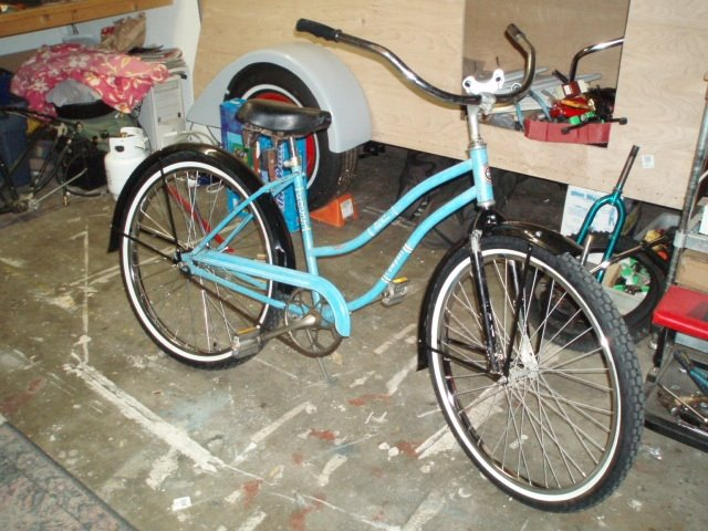 Vintage Schwinn Cruisers And Orther Old Bicycles 1959