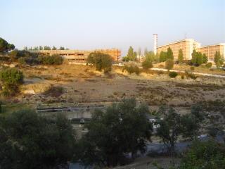 Hospital Garcia da Orta ao fundo