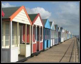 The beach huts are in Southwold of course.....