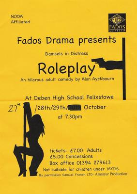Larger image of Roleplay Flyer.