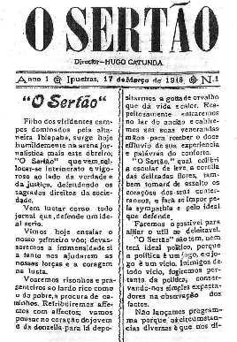 """A Descoberta de """"O Sertão"""" - Por Bérgson Frota / Fortaleza"""