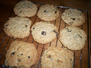 Oatmeal Raisin Cookies - Take 2