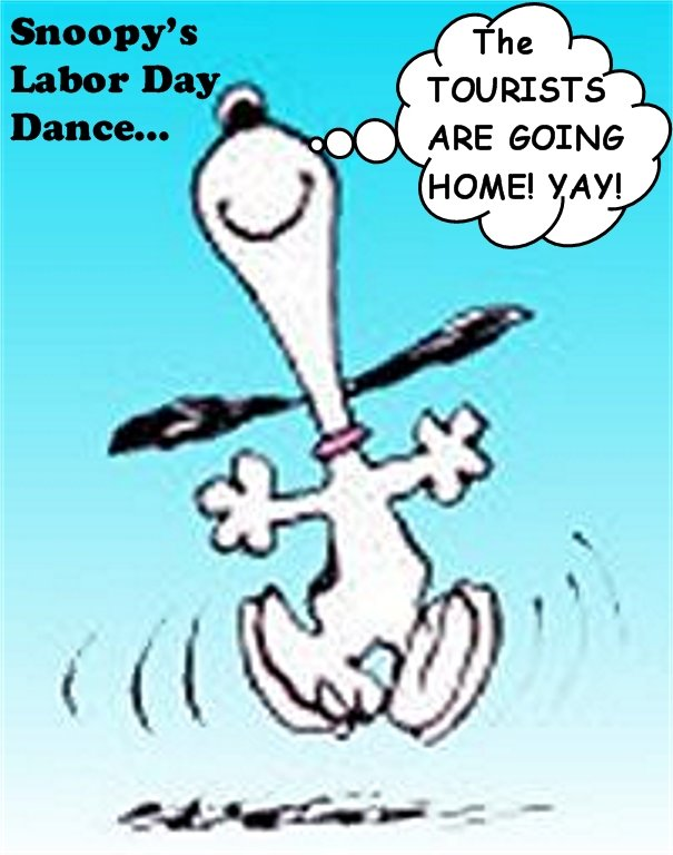 Snoopy happy dance animated gif