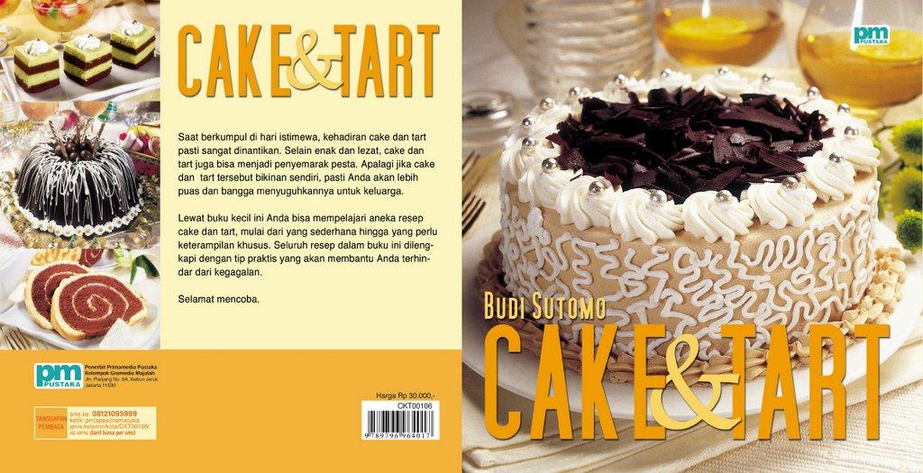 cake tart judul cake tart penulis budi sutomo harga rp 30 000 foto ...