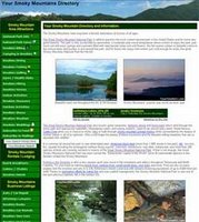 Smoky Mountains informational site and business directory covering the North Carolina and the Tennessee