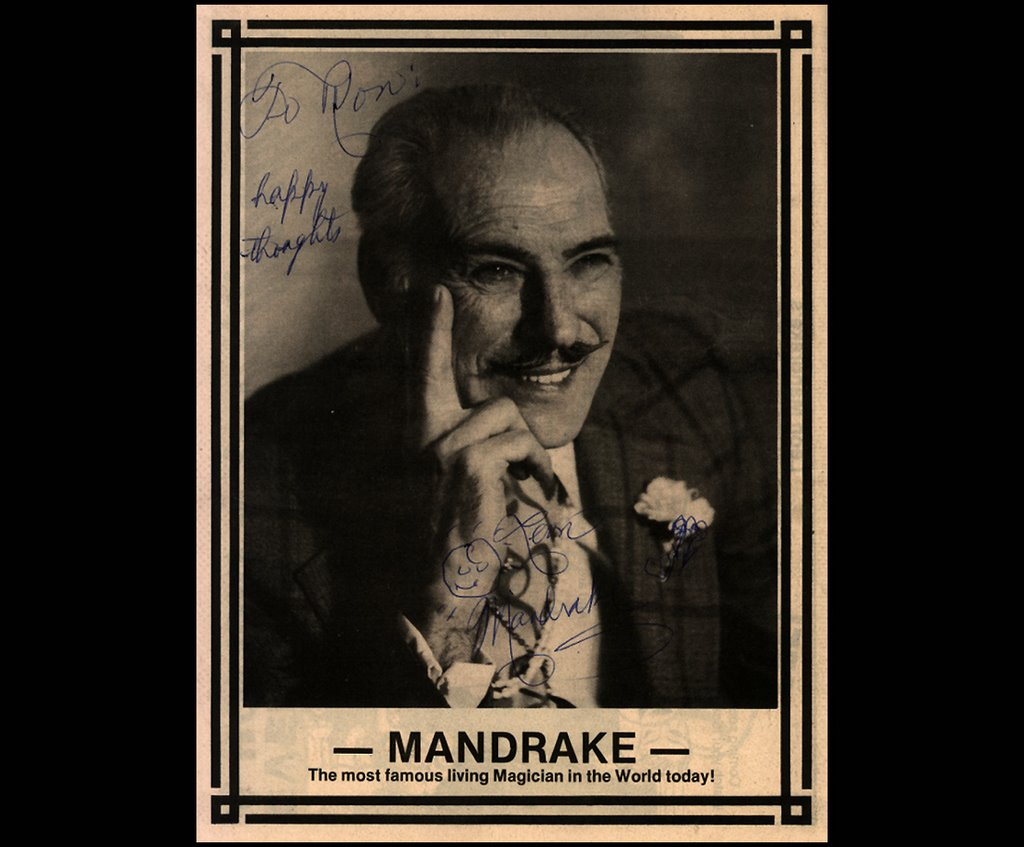 Image result for leon mandrake magician