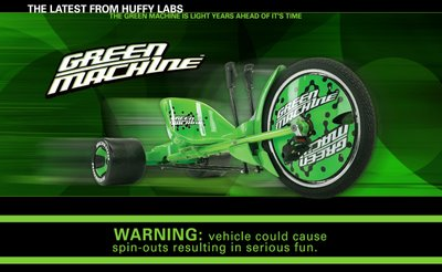 Ronn's Big Pile of Stuff: The Green Machine