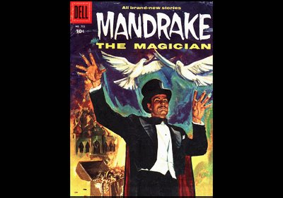 Mandrake the Magician Comic Book