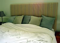 how to make padded headboard