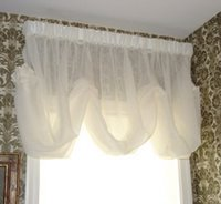 sheer balloon valance