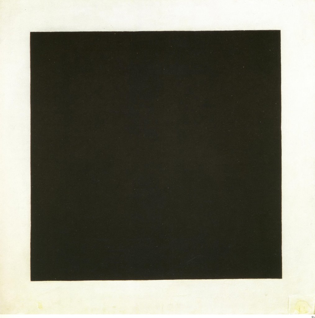 Quotes In ArtMalevich Black Square 1913