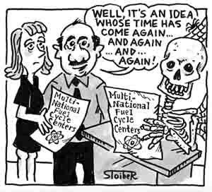 Its illegal - Political Cartoon
