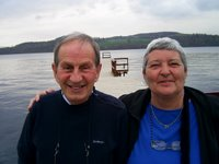 Con and Barbara at Loch Lomond