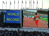 The new world record for women's javelin throw