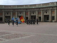 The change of guard at the Royal Palace