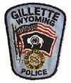 Polizeiwappen Gillette, Wyoming