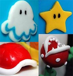 Super Mario Hochzeitstorte Details