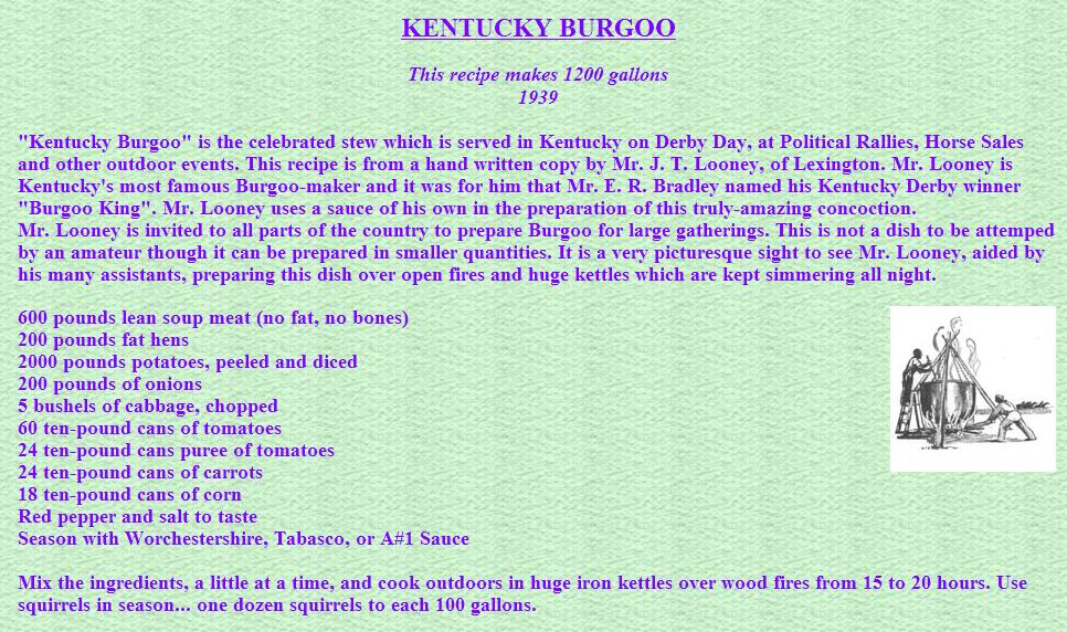 ... stew pgh recipes by spaceboy kentucky burgoo kentucky burgoo realtree