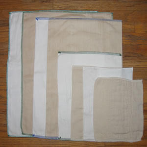 Prefold cloth diaper packages can include unbleached organic prefold diapers, chinese prefolds, Indian prefolds -- even hemp jersey prefolds