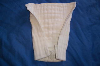 cloth diapering is easy with inexpensive cotton prefolds (2)