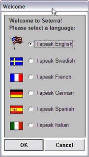 Seterra languages