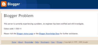 Blogger Problem