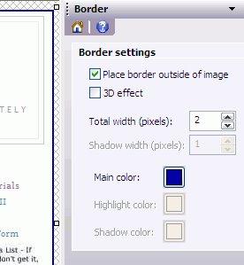 Border effect