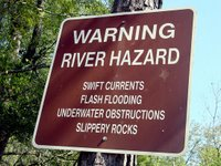 River Warning by PixelPerfect.com