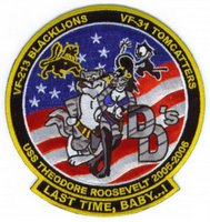 VF-213 and VF-31's final flight patch