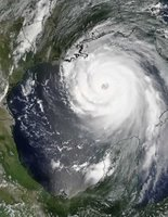 Hurricane Katrina August 28, 2005 (c)nasa