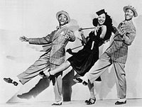 The Nicholas Brothers with Dorothy Dandridge in 1941